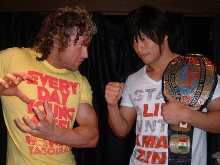 Image result for kenny omega vs Kota Ibushi DDT Nippon Budokan