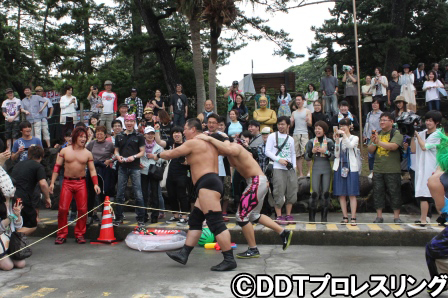 Image result for ddt street wrestling