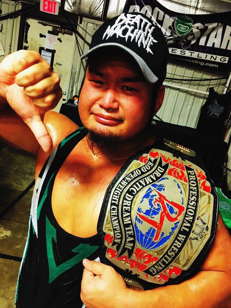 Termina el drama, Shigehiro Irie recupera el título principal de DDT 3