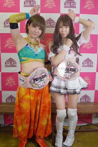 TJPW: Princess Tag-Team   Dramatic DDT