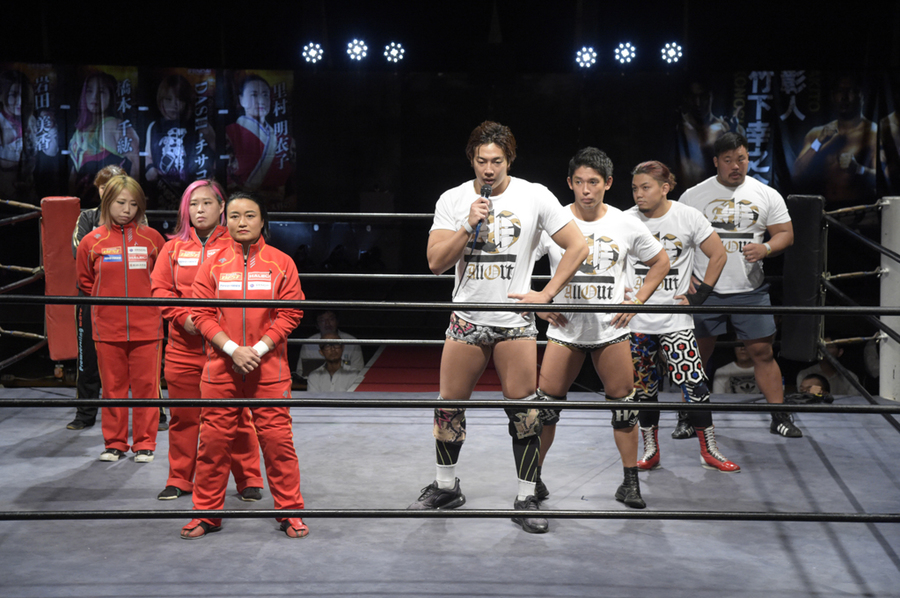 "DDT AND SENDAI GIRLS ""ALL OUT X SENDAI GIRLS PRO-WRESTLING"" Results"